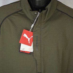 "Puma Cell 1/2 Zip Performance ""Mercedes"" Pullover"